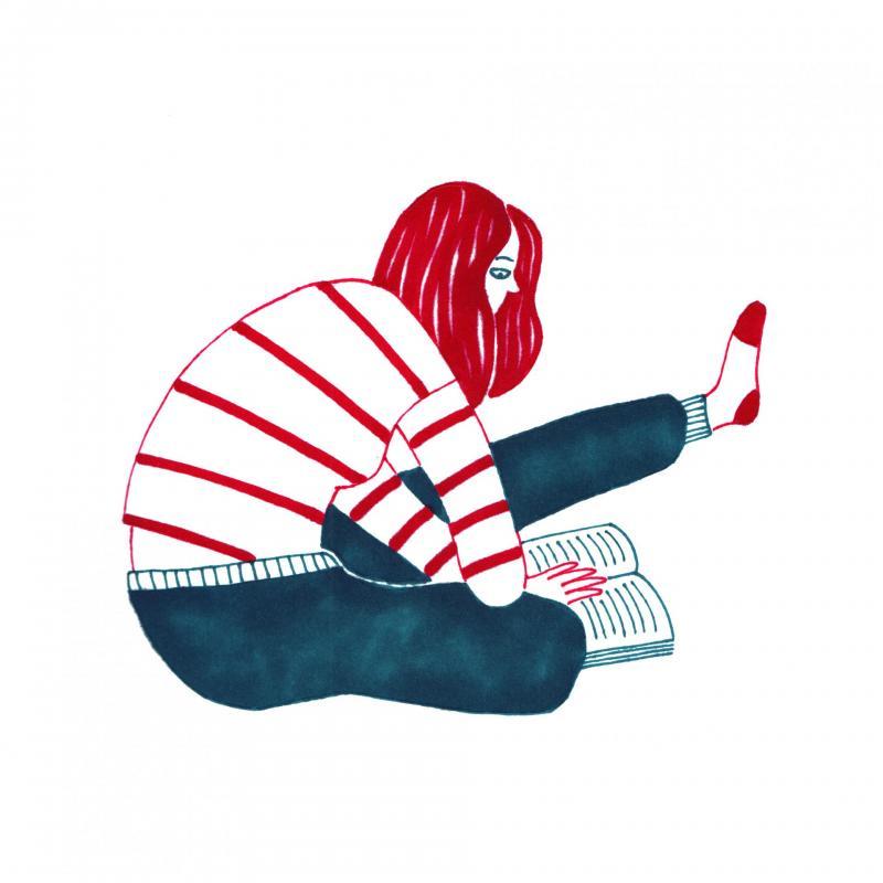 Lectora adolescente