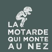 Logo motarde blancsurbleu