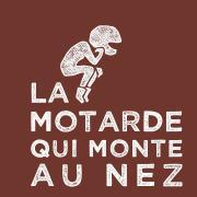 Logo motarde blancsurrouge
