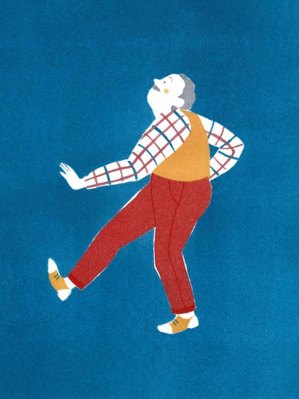 Dancing grandpa